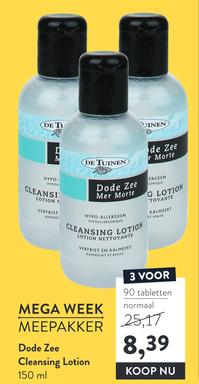 Dode Zee Cleansing Lotion