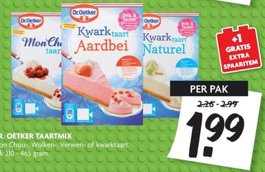 Dr. oetker taartmix