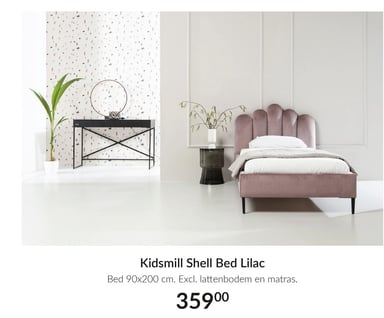 Kidsmill Shell Bed Lilac