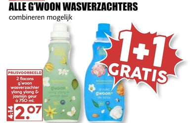 Alle g'woon wasverzachters