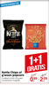 Kettle Chips of a'woon popcorn