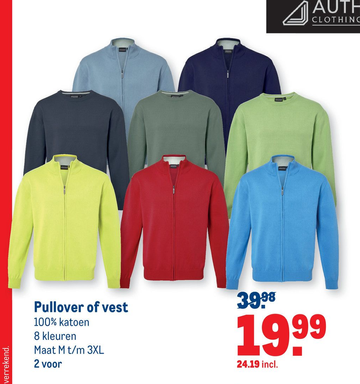 Pullover of vest