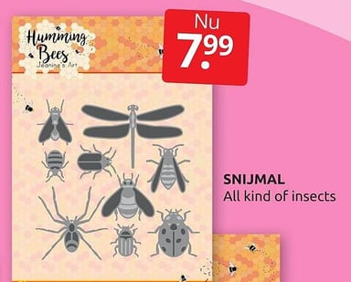 Snijmal All kind of insects