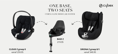 One base, two seats