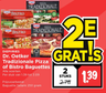 Dr. Oetker Tradizionale Pizza of Bistro Baguettes