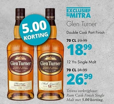 Glen Turner Double Cask Port Finish