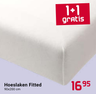 Hoeslaken Fitted 90x200 cm