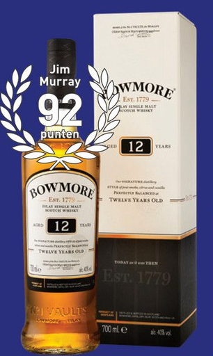 Bowmore 12 Years 70CL Whisky