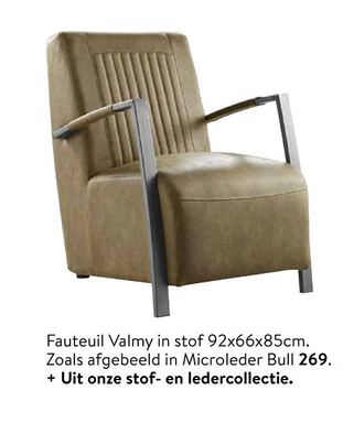 Fauteuil Valmy
