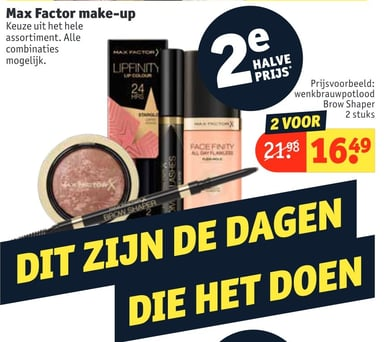Max Factor make-up