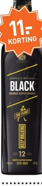 Johnnie Walker Black Label 200th Anniversary Icon 70CL Whisky