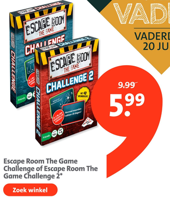 Escape Room The Game Challenge of Escape Room The Game Challenge 2*