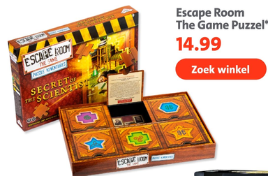 Escape Room The Game Puzzel