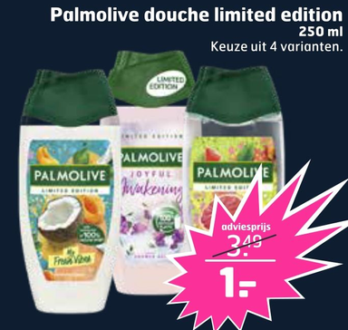 Palmolive douche limited edition