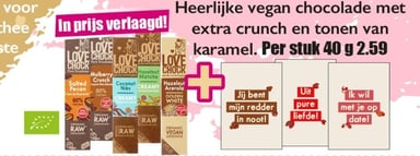 Lovechock Chocolade