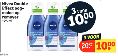 Nivea Double Effect oog- make-up remover