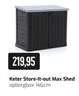 Keter Store-It-out Max Shed opbergbox