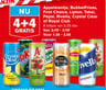 Appelsientje, BubbelFrisss, First Choice, Lipton, Taksi, Pepsi, Rivella, Crystal Clear of Royal Club