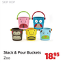 Stack & Pour Buckets Zoo