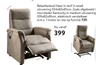 Relaxfauteuil Hawi in stof in small 10. 01
