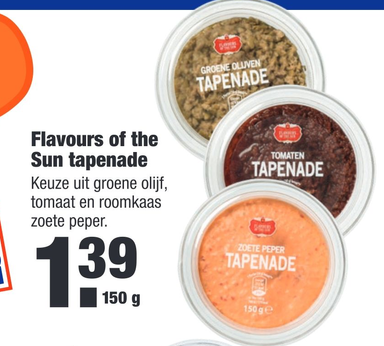 Flavours of the Sun tapenade