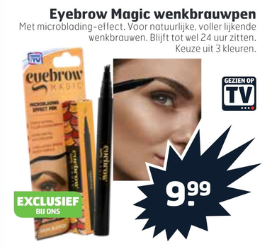 Eyebrow Magic wenkbrauwpen