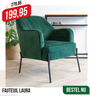 FAUTEUIL LAURA