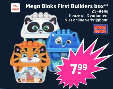 Mega Bloks First Builders box