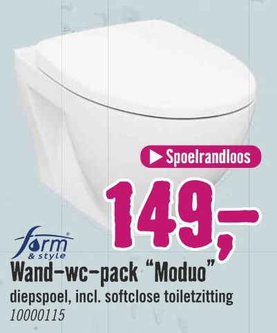 """Wand-wc-pack """"Moduo"""""""