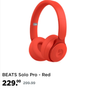 BEATS Solo Pro - Red